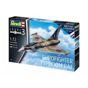 Revell 100 Years RAF: Eurofighter Typho 1:72 1/4