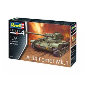Revell A-34 komeet Mk.1 1:76 1/4