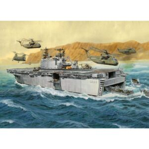 Revell Assault Ship USS Tarawa LHA-1 1:720 1/4