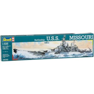 Revell Battleship USS Missouri 1:535 1/3