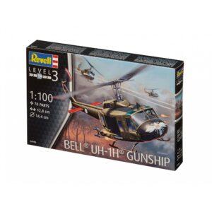 Revell Bell® UH-1H® Gunship 1:100 1/4