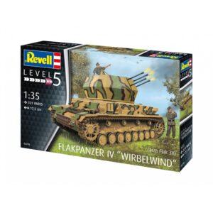 Revell Flakpanzer IV keeristorm 1:35 1/4