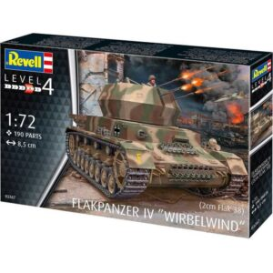 Revell Flakpanzer IV Wirbelwind 1/4