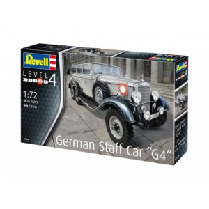 "Revell German Staff Car ""G4"" 1:72 1/4"