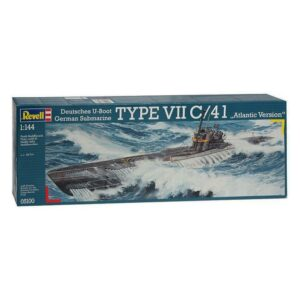 Revell German Submarine Type VII / 41 1:144 1/4