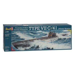 Revell German Submarine Type VII / 41 1:144 1/4