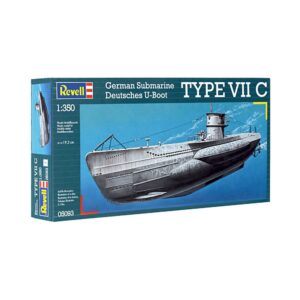 Revell German Submarine Type VII C 1:350 1/4