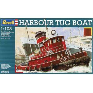 Revell Harbour Tug Boat 1:108 1/3