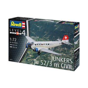 Revell Junkers Ju52/3m Civil 1:72 1/4