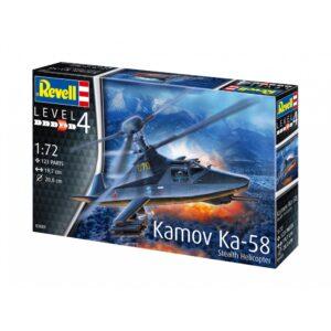 Revell Kamov Ka-58 Stealth 1:72 1/4