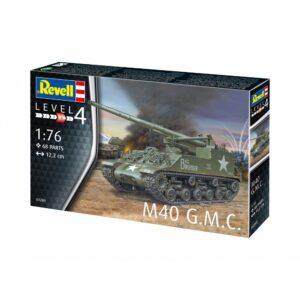Revell M40 G.M.C 1:76 1/4