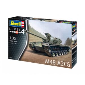 Revell M48 A2CG 1:35 1/4