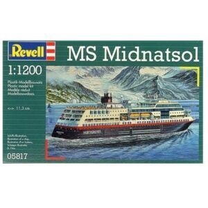 Revell MS Midnatsol 1:1200 1/4