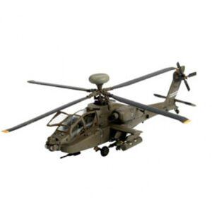 Revell mudelikomplekt AH-64D Longbow Apache 1:144 1/3