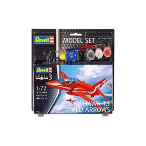 Revell mudelikomplekt BAe Hawk T.1 Red Arrows 1:72 1/1
