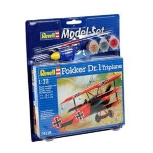 Revell mudelikomplekt Fokker DR.1 1:72 1/4