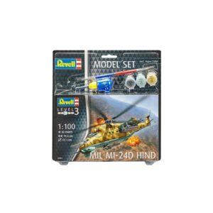 Revell mudelikomplekt Mil Mi-24D Hind 1:100 1/4