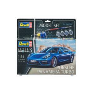 Revell mudelikomplekt Porsche Panamera Turbo 1:24 1/4
