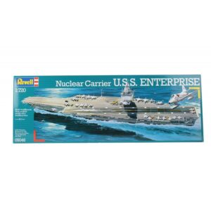 Revell Nuclear Carrier U.S.S. Enterprise 1:720 1/3