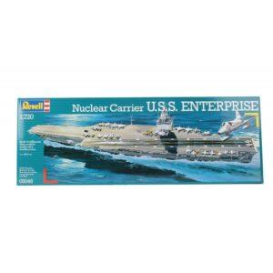 Revell Nuclear Carrier U.S.S. Enterprise 1:720 1/3