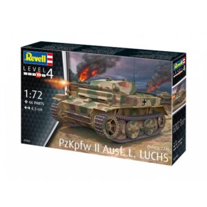 Revell PzKpfw II Ausf.L LUCHS (Sd.Kfz.123) 1:72 1/4