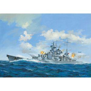 Revell Scharnhorst 1:570 1/4