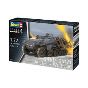 Revell Sd.Kfz. 251/1 Ausf. C + Wurfr. 4 1:72 1/4