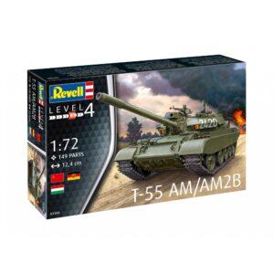 Revell T-55AM / T-55AM2B 1:72 1/4