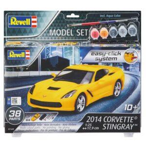 Revelli mudelikomplekt 2014 Corvette Stingray 1/4