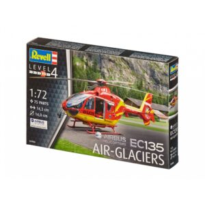 Revell Airbus Helikopter EC135 AIR-GLACIERS 1:72 1/3