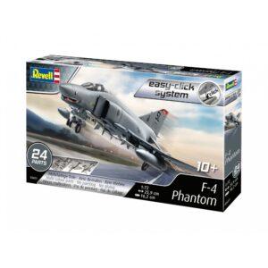 Revell plastik mudel F-4E Phantom1:72 Easy-Click 1/4