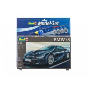 Revell mudelikomplekt BMW i8 1:24 1/4