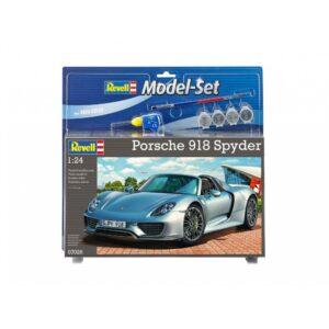 Revell mudelikomplekt Porsche 918 Spyder 1:24 1/4